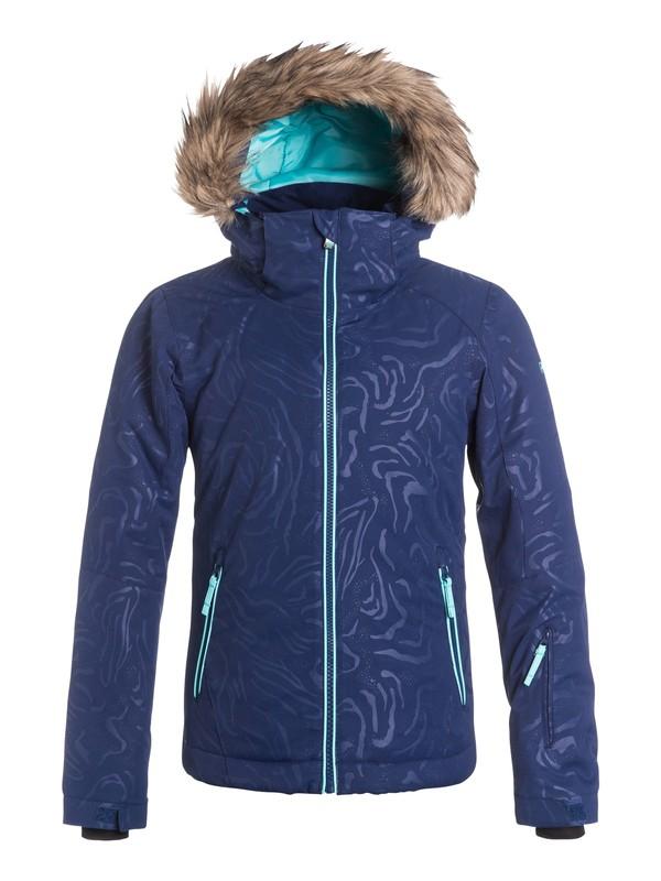 0 Girls 7-14 American Pie Solid Snow Jacket  ERGTJ03020 Roxy