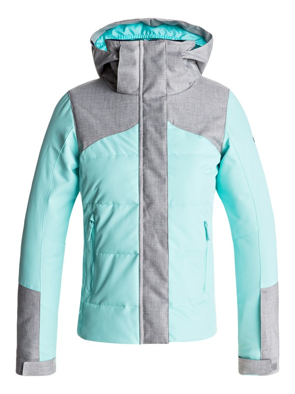 0 Girls 7-14 Flicker Snow Jacket Blue ERGTJ03035 Roxy