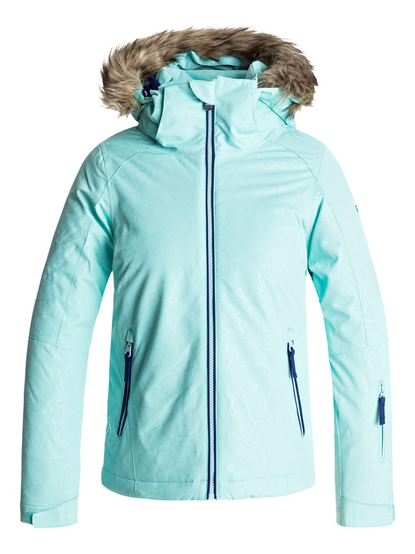 0 Girls 7-14 American Pie Snow Jacket Blue ERGTJ03036 Roxy