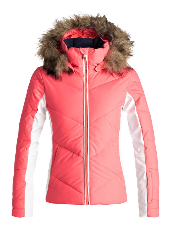 0 Snowstorm - Snow Jacke Orange ERGTJ03038 Roxy