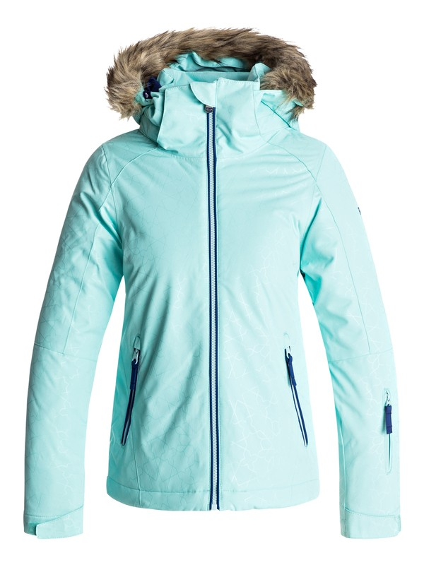 0 Jet Ski - Snow Jacke Blau ERGTJ03039 Roxy