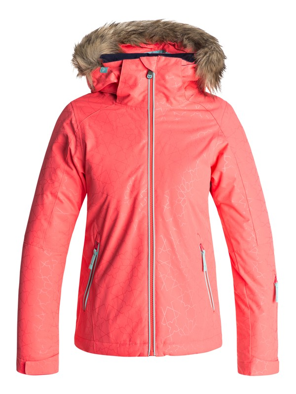 0 Jet Ski - Snow Jacke Orange ERGTJ03039 Roxy