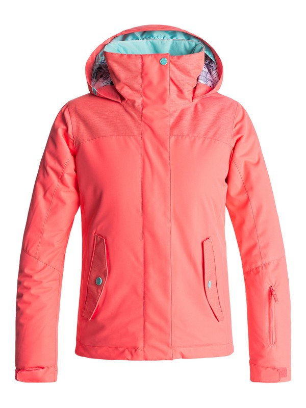 0 ROXY Jetty - Snow Jacke Orange ERGTJ03040 Roxy