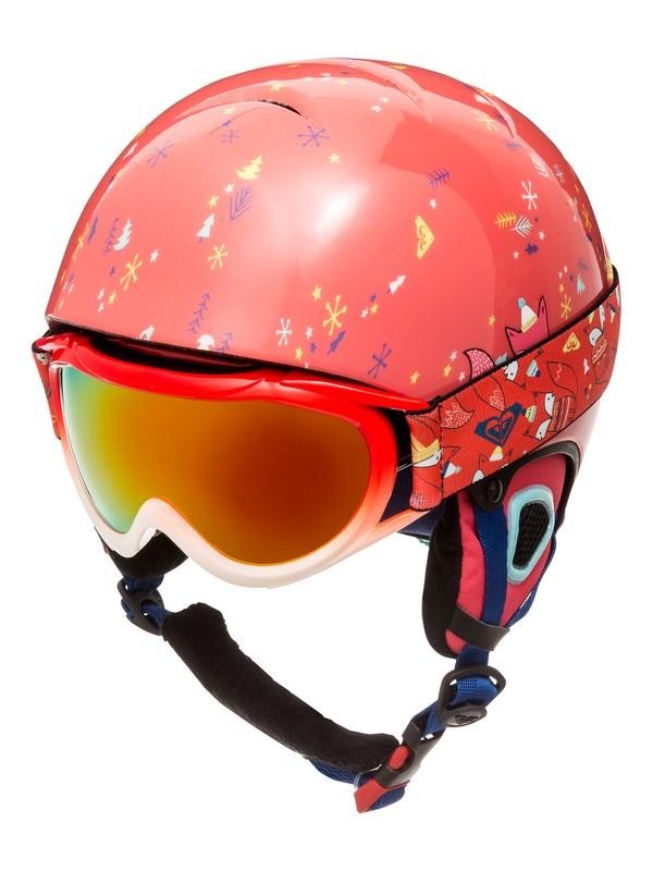 0 Girls 7-14  Misty Helmet and Goggle Set Orange ERGTL03001 Roxy