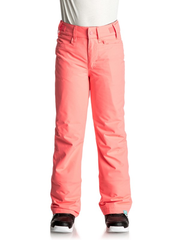 0 Backyard - Pantalon de snow Orange ERGTP03012 Roxy