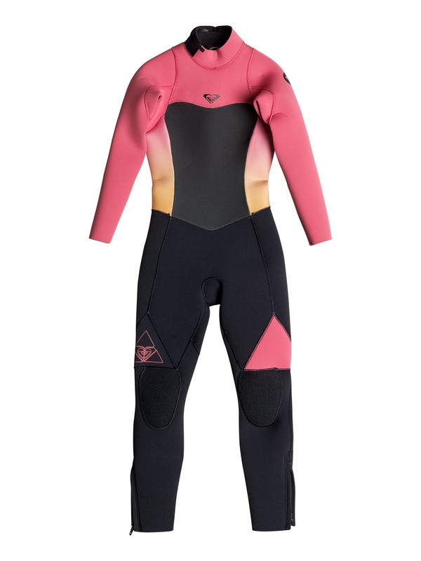 0 Girl's 2-6 Syncro 3/2mm Back Zip Full Wetsuit  ERGW103006 Roxy