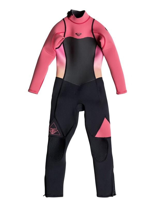 0 Girls 2-6 Syncro 3/2mm Back Zip Full Wetsuit  ERGW103009 Roxy