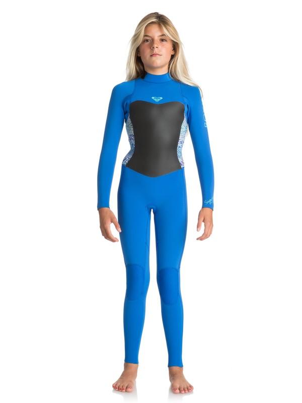 0 4/3mm Syncro Series - Combinaison de surf intégrale Bleu ERGW103016 Roxy
