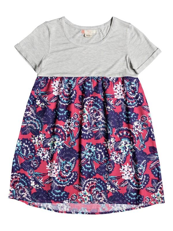 0 Branche Of Lilac - Robe tee-shirt Rose ERGWD03043 Roxy