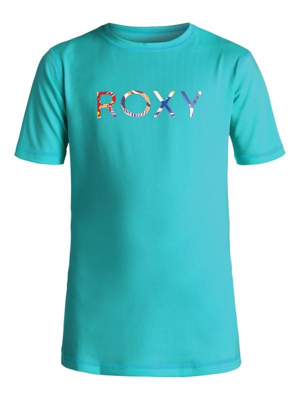 0 Girls 7-14 Palms Away Rashguard  ERGWR03004 Roxy