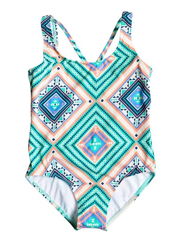 0 Girls 7-14 Hippie College One Piece Swimsuit  ERGX103013 Roxy