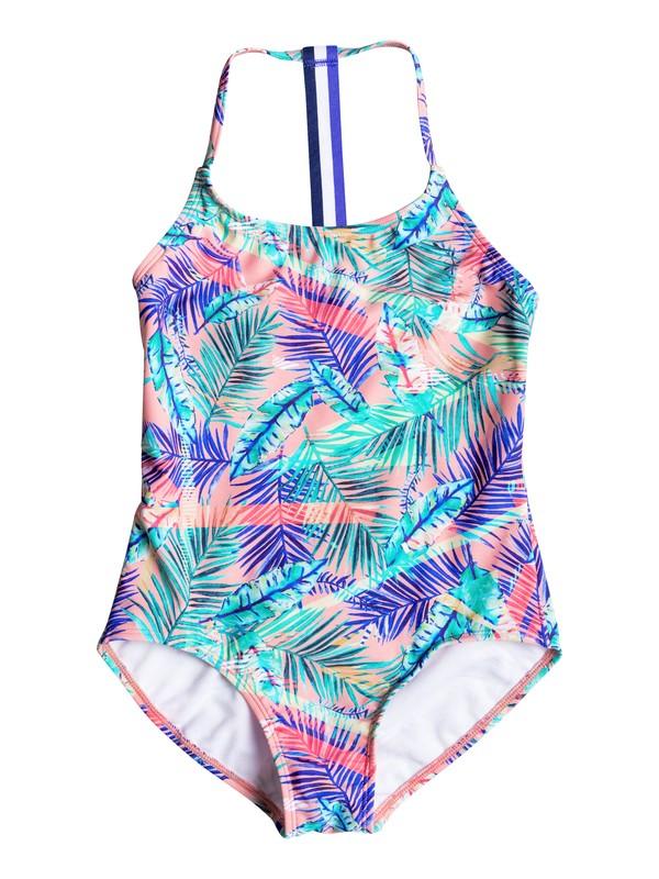 0 Girls 7-14 Retro Summer One Piece Swimsuit  ERGX103016 Roxy