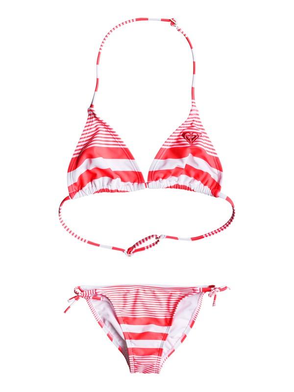 0 Girls 7-14 Dotsy ROXY Tri Bikini Set  ERGX203050 Roxy