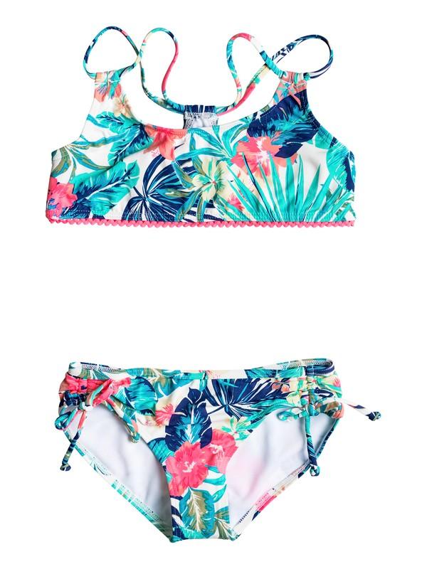 0 Girls 7-14 Jungle Poem Athletic Bikini Set  ERGX203068 Roxy