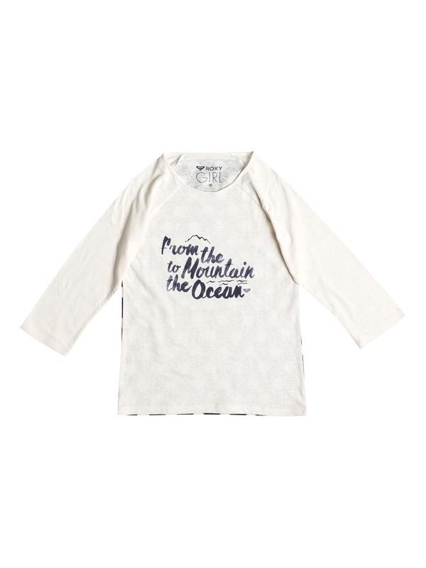 0 RG 3/4 Sleeve - T-shirt col rond  ERGZT03057 Roxy