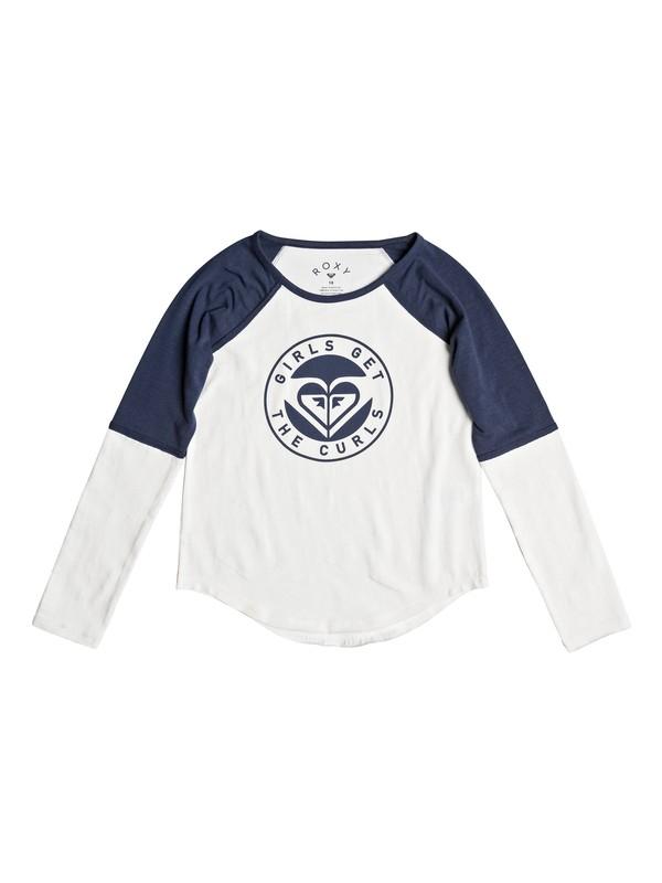0 Eldest - Long Sleeve T-Shirt White ERGZT03225 Roxy
