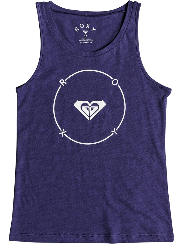 0 There Is Life - Vest Top Blue ERGZT03261 Roxy