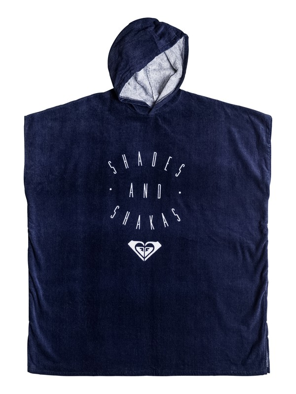 0 Pass This On - Serviette poncho de surf Bleu ERJAA03221 Roxy