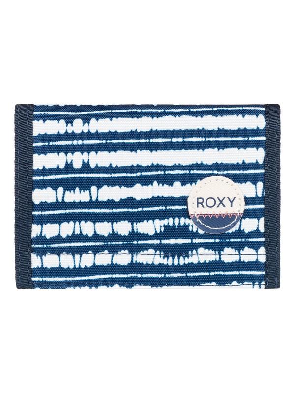 0 Beach Glass - Large Wallet Blue ERJAA03277 Roxy