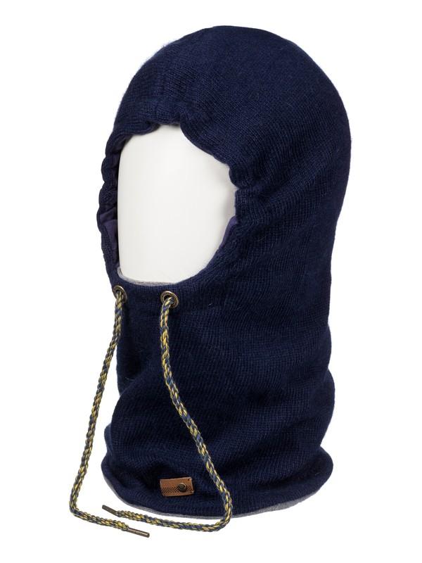0 Torah Bright - 2-in-1 Hooded Neck Warmer Blue ERJAA03285 Roxy