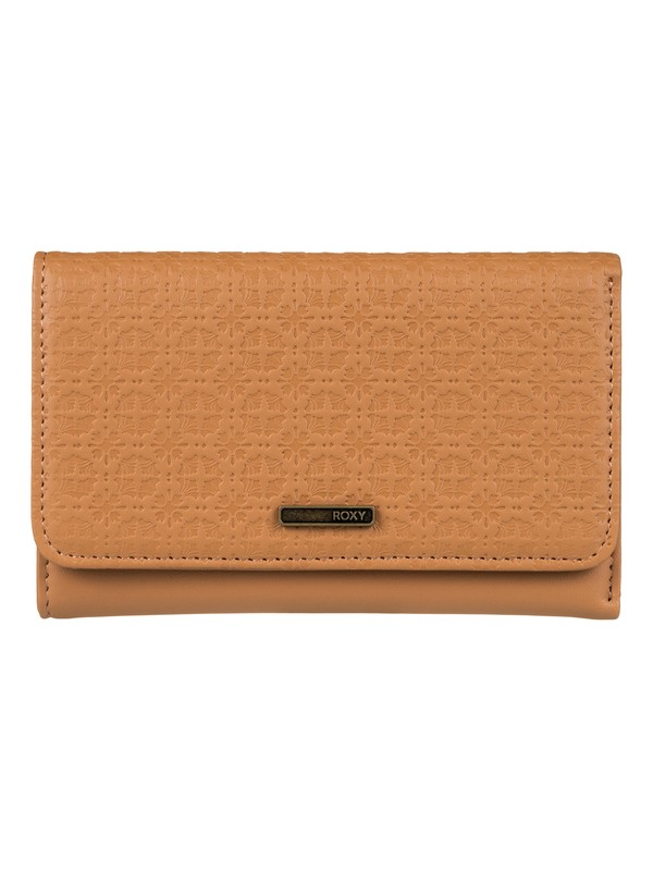 0 Juno - Snap Closure Wallet Orange ERJAA03311 Roxy