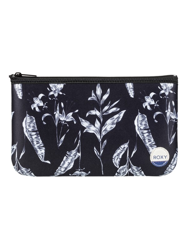 0 Pencil Emotions - Pencil Case Black ERJAA03328 Roxy