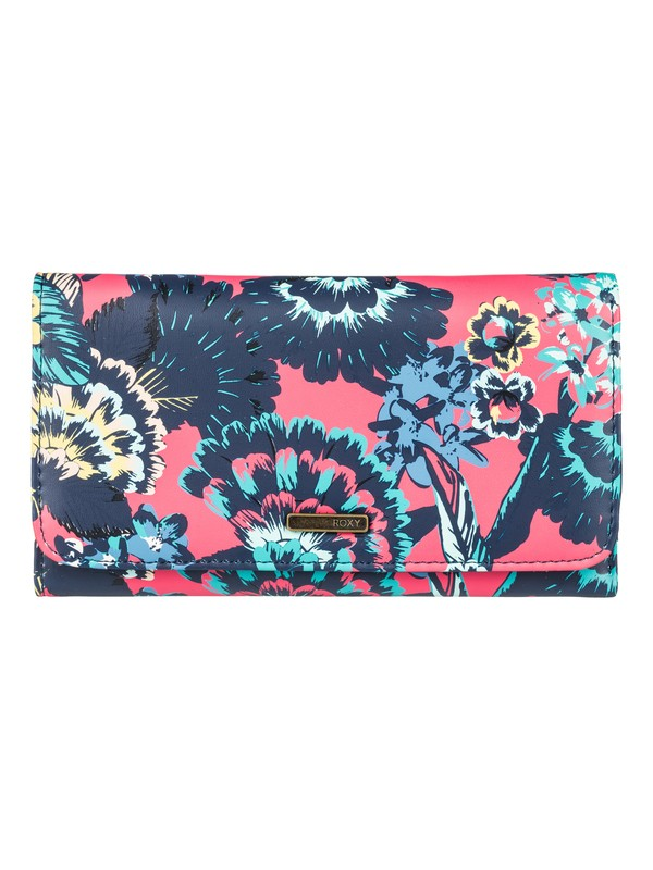 0 My Long Eyes Tri Fold Wallet Pink ERJAA03389 Roxy