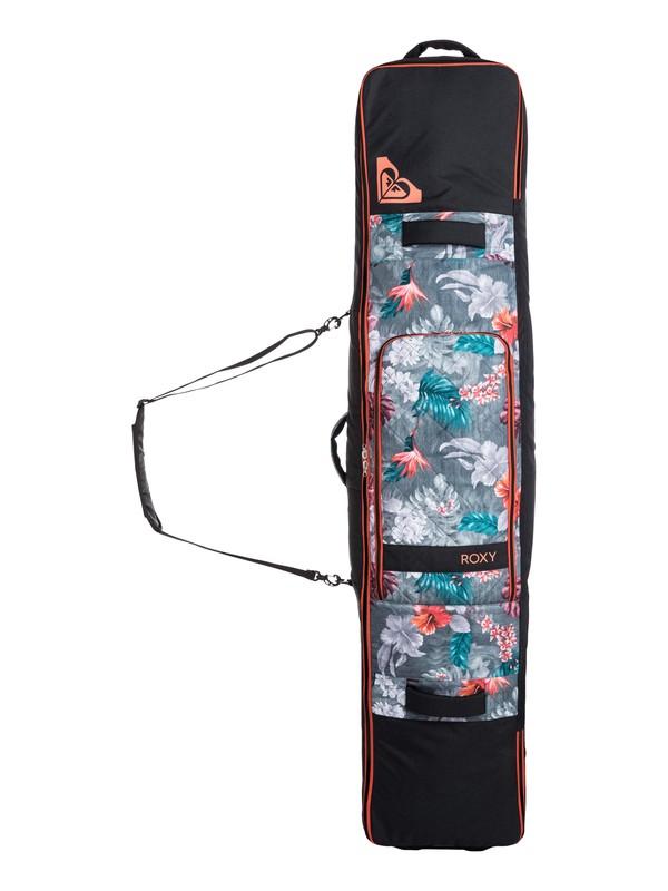 0 Vermont Rolling Snowboard Bag  ERJBA03019 Roxy