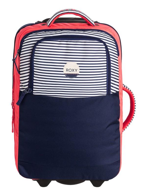 0 Roll Up Wheelie Cabin Suitcase  ERJBL03070 Roxy