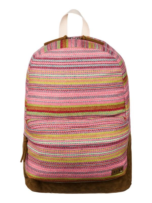 0 Gallery Backpack Pink ERJBP03012 Roxy