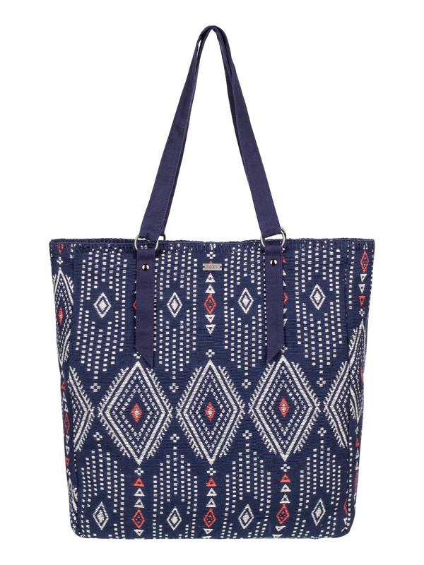 0 Boho Party Tote Bag Blue ERJBP03240 Roxy