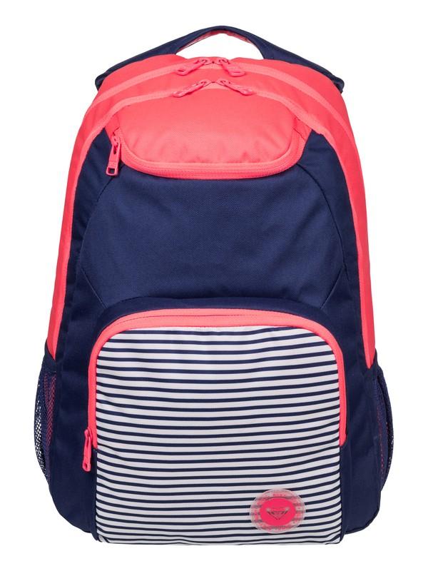 0 Shadow Swell Colorblock Backpack  ERJBP03338 Roxy