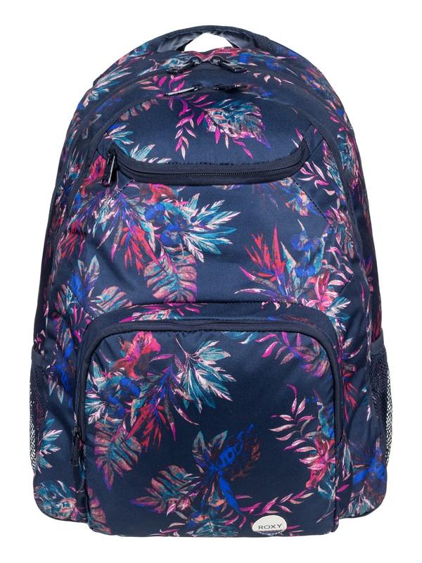 0 Shadow Swell 23.5L Medium Backpack Blue ERJBP03459 Roxy