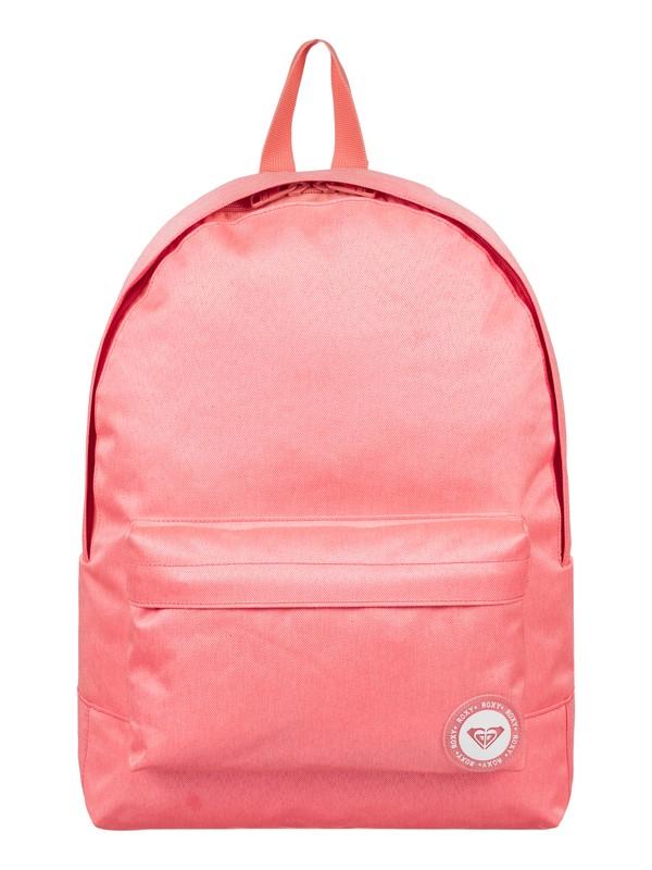 0 Sugar Baby Solid 16L - Medium Backpack Pink ERJBP03535 Roxy
