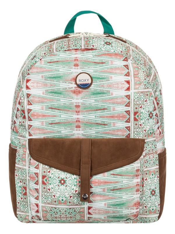 0 Carribean 18L - Medium Backpack White ERJBP03537 Roxy