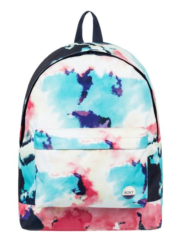 0 Be Young 24L - Medium Backpack Blue ERJBP03538 Roxy