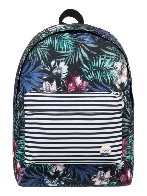0 Be Young 24L - Medium Backpack Black ERJBP03538 Roxy
