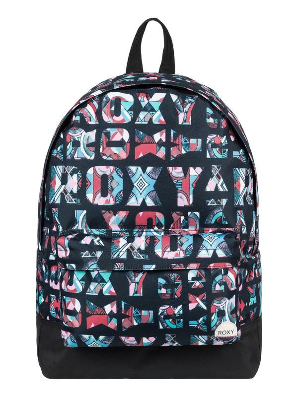 0 Sugar Baby 16L - Medium Backpack Black ERJBP03543 Roxy