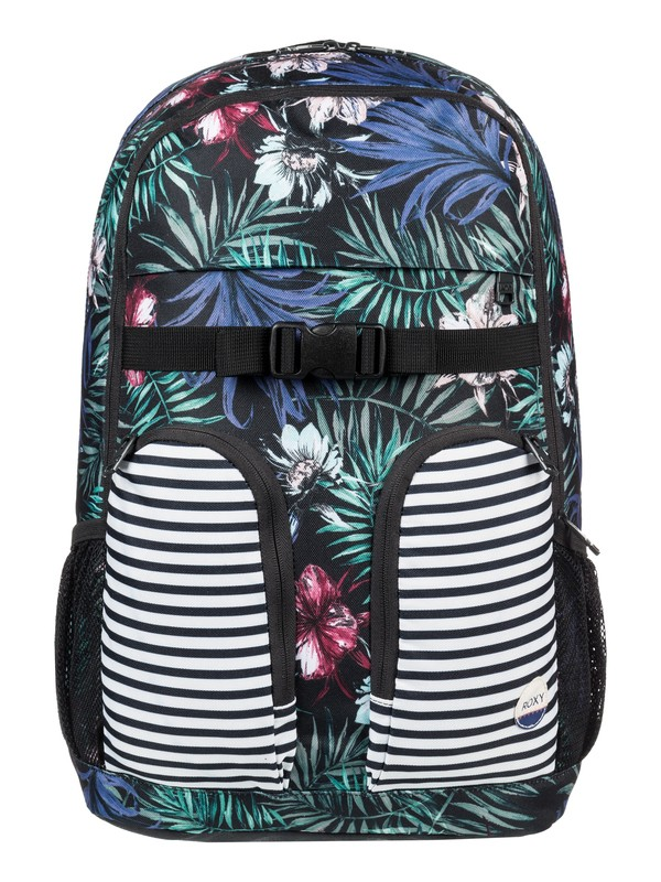 0 Take It Slow 22L - Mochila Mediana Negro ERJBP03545 Roxy