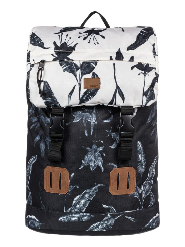 0 Sunset Pacific 25L - Medium Backpack Black ERJBP03549 Roxy