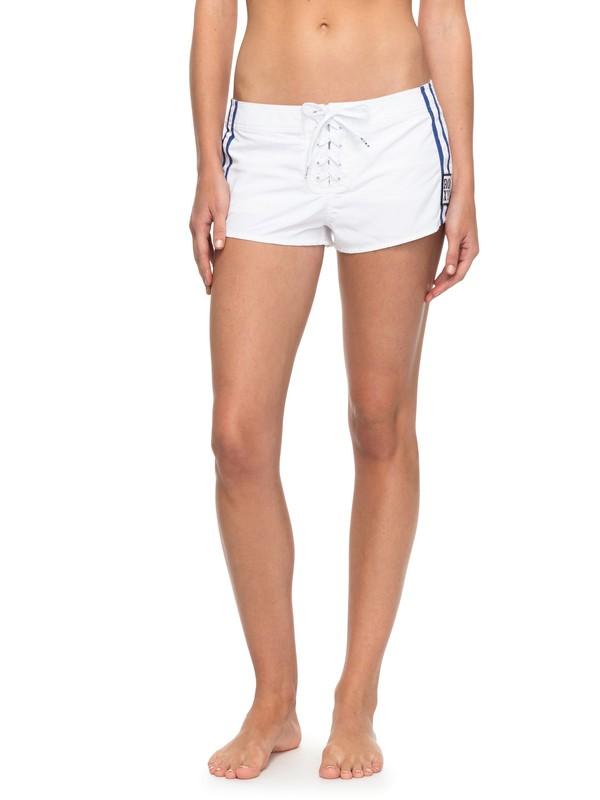 0 Lisa Andersen Boardshorts White ERJBS03003 Roxy