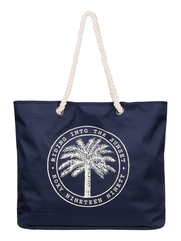0 Tropical Vibe - Beach Bag Blue ERJBT03026 Roxy