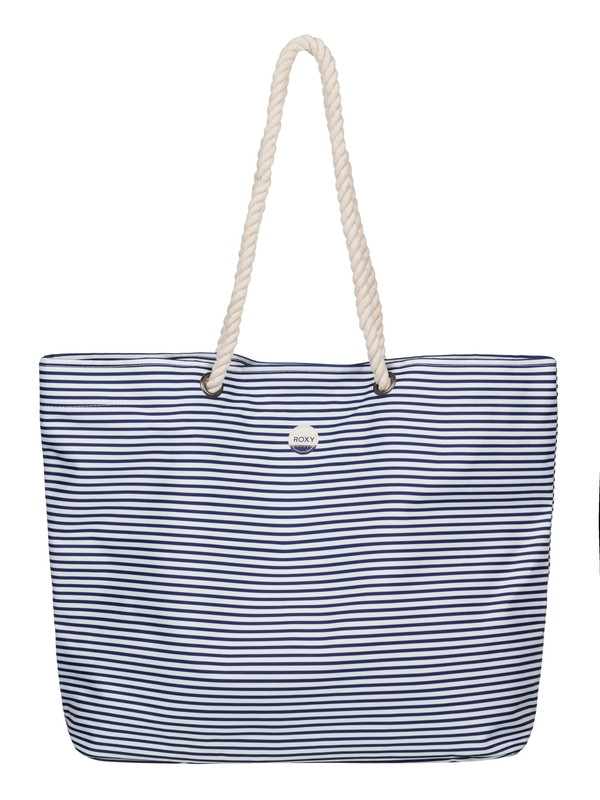 0 Printed Tropical Vibe Beach Tote  ERJBT03045 Roxy