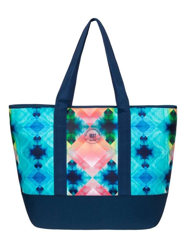 0 Sun Crush Neoprene Tote Bag  ERJBT03058 Roxy