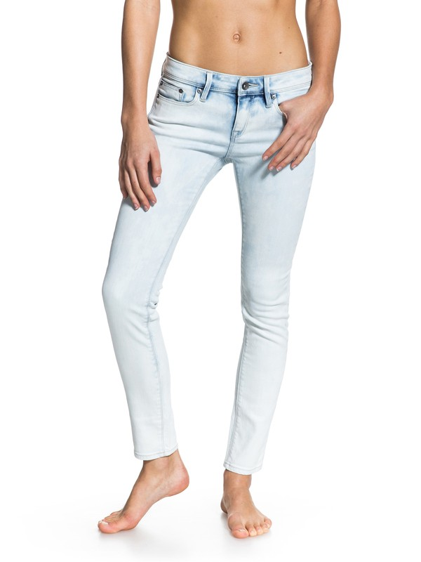 0 Suntrippers Bleached Out Jeans  ERJDP03056 Roxy
