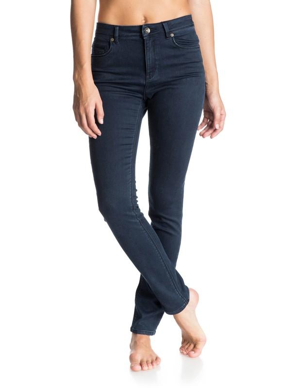 0 Suntrippers Indigo Skinny Jeans  ERJDP03065 Roxy
