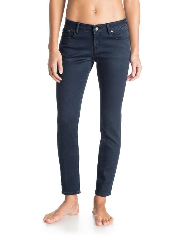 0 Suntrippers Indigo Cropped Jeans  ERJDP03083 Roxy