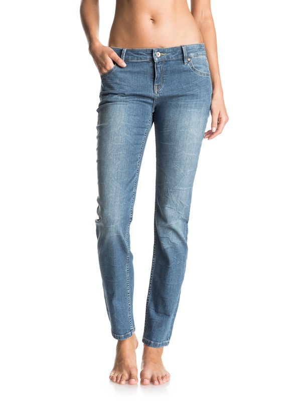 0 You Breathing - Straight Fit Jeans  ERJDP03113 Roxy
