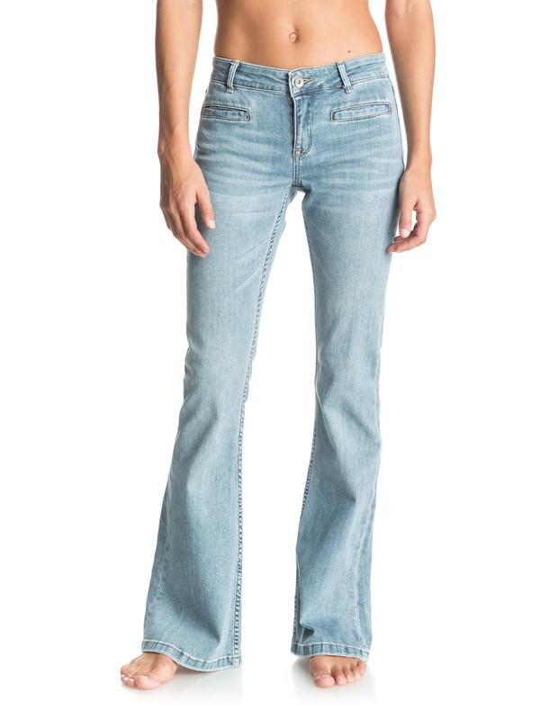 0 Jane Forever Flared Jeans Blue ERJDP03123 Roxy