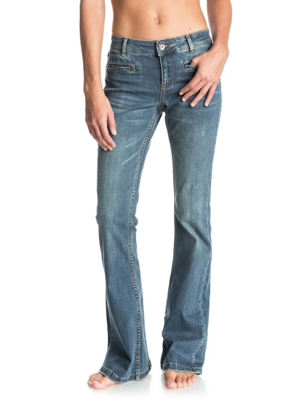 0 Jane Forever Flared Jeans Blue ERJDP03123 Roxy